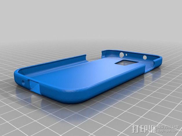 贝克街221号 三星S4手机外壳 3D模型  图2