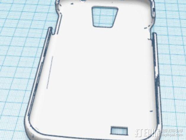 贝克街221号 三星S4手机外壳 3D模型  图3