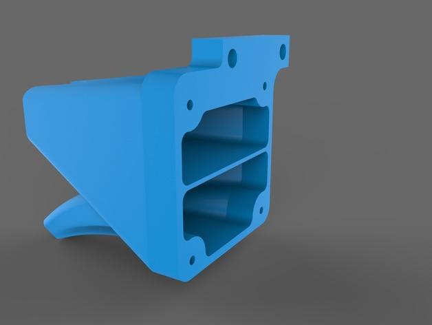 TAZ 4 冷却剂导管 3D模型  图3