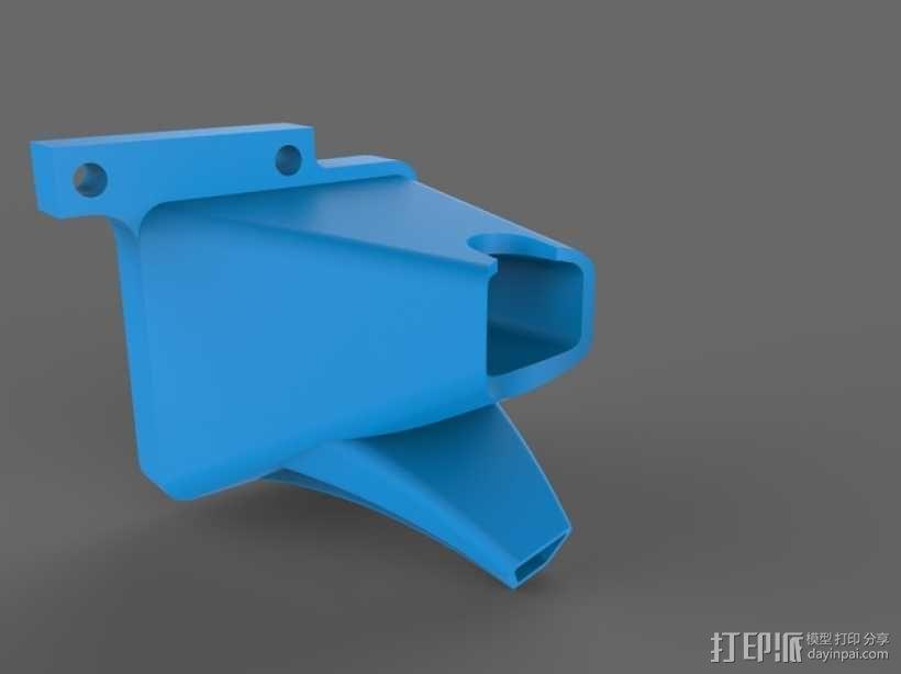 TAZ 4 冷却剂导管 3D模型  图1