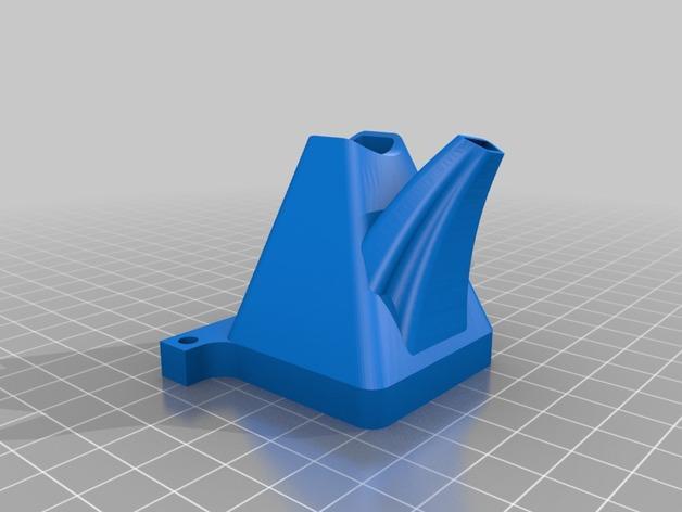 TAZ 4 冷却剂导管 3D模型  图2