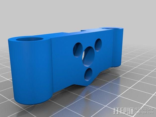 Rigidbot 打印机Z轴支架 3D模型  图4