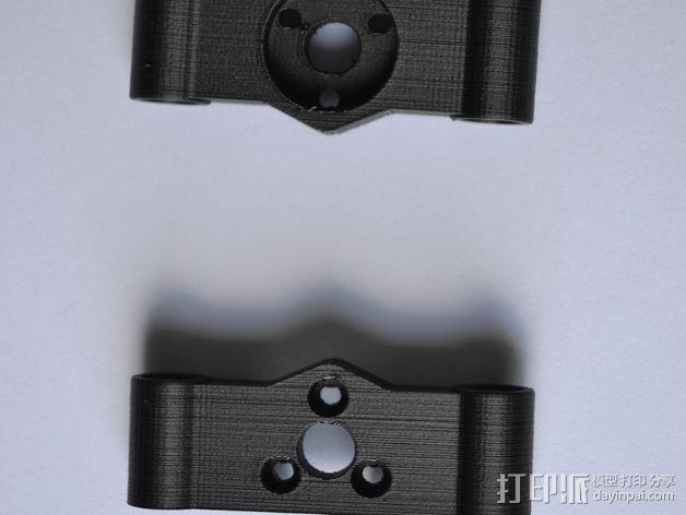 Rigidbot 打印机Z轴支架 3D模型  图2