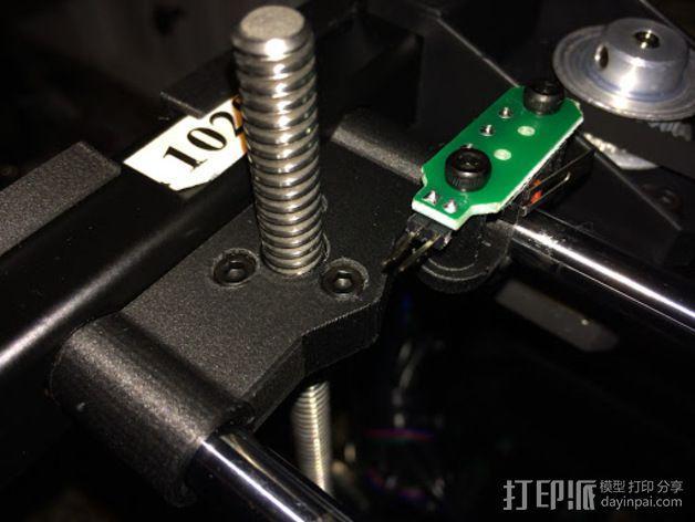 Rigidbot 打印机Z轴支架 3D模型  图3