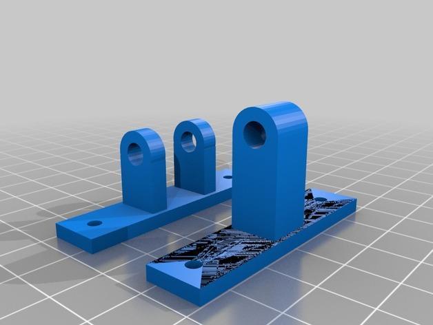 50毫米 风扇座架 3D模型  图2