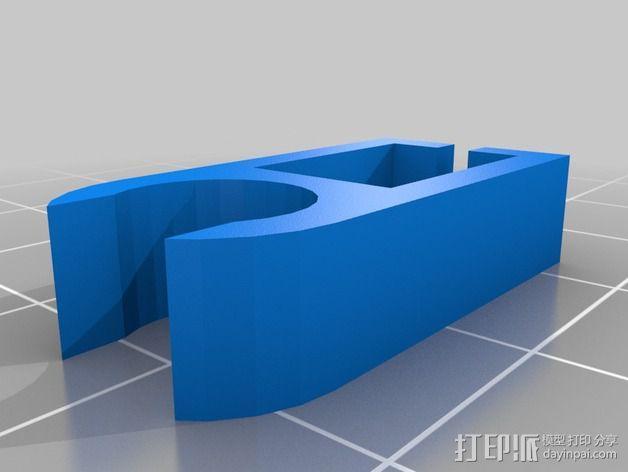 线夹  3D模型  图2