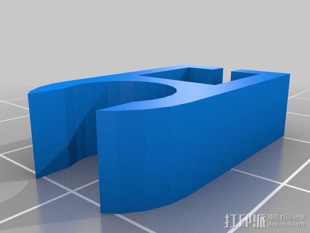 线夹  3D模型  图3
