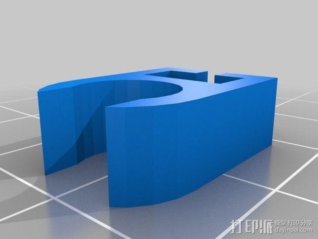 线夹  3D模型  图4