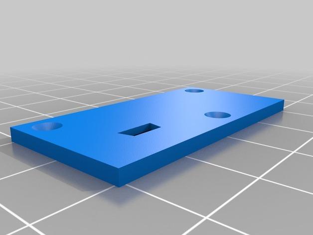 GoPro Hero3/3+打印机万向接头 3D模型  图4