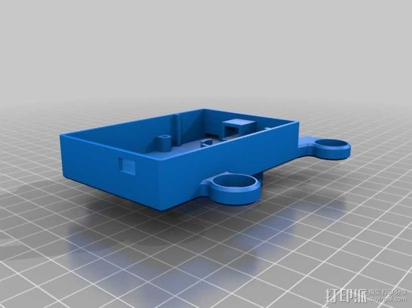 GoPro Hero3/3+打印机万向接头 3D模型  图8