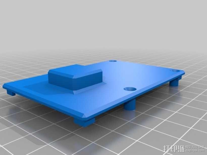 GoPro Hero3/3+打印机万向接头 3D模型  图9