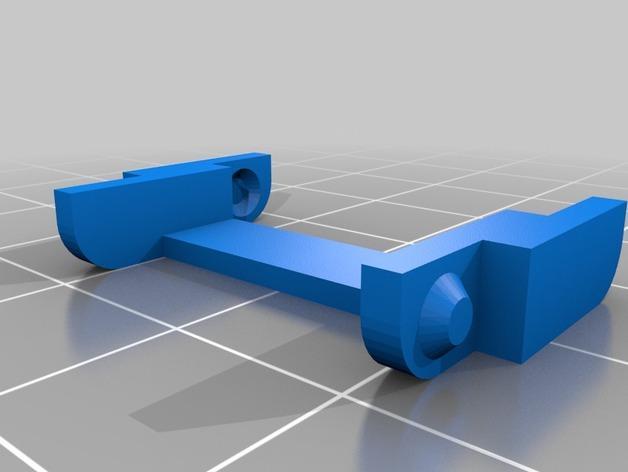 K8200打印机Z轴导缆链 3D模型  图4