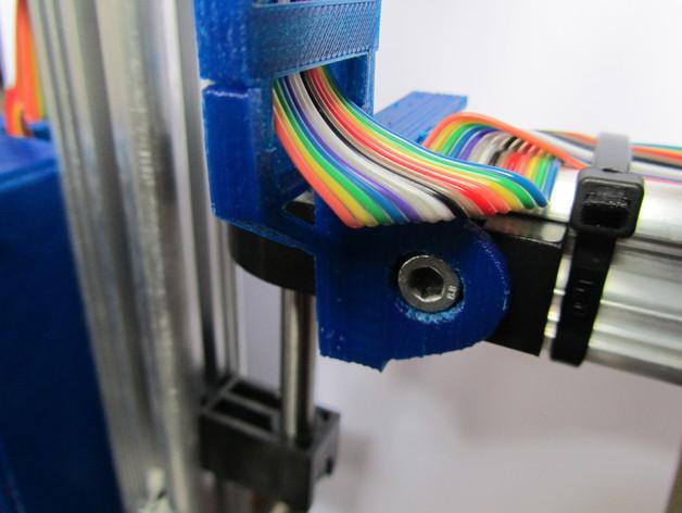 K8200打印机Z轴导缆链 3D模型  图3