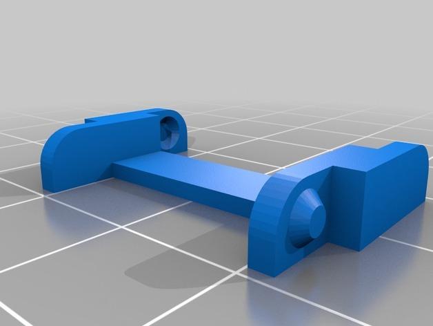 K8200打印机Z轴导缆链 3D模型  图5