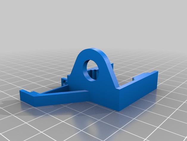 K8200打印机Z轴导缆链 3D模型  图6