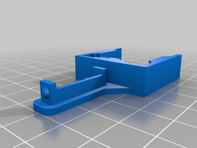K8200打印机Z轴导缆链 3D模型  图7