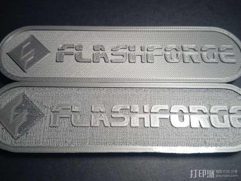 FlashForge Creator PRO打印机侧板盖 3D模型  图1
