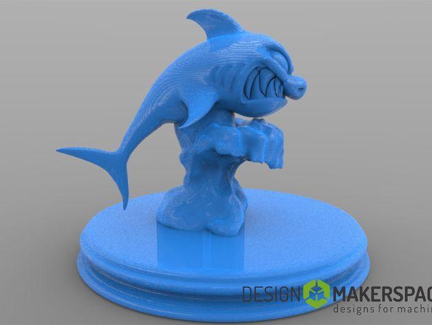 进击的鲨鱼 3D模型  图3