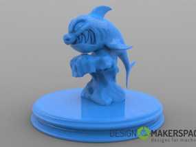 进击的鲨鱼 3D模型