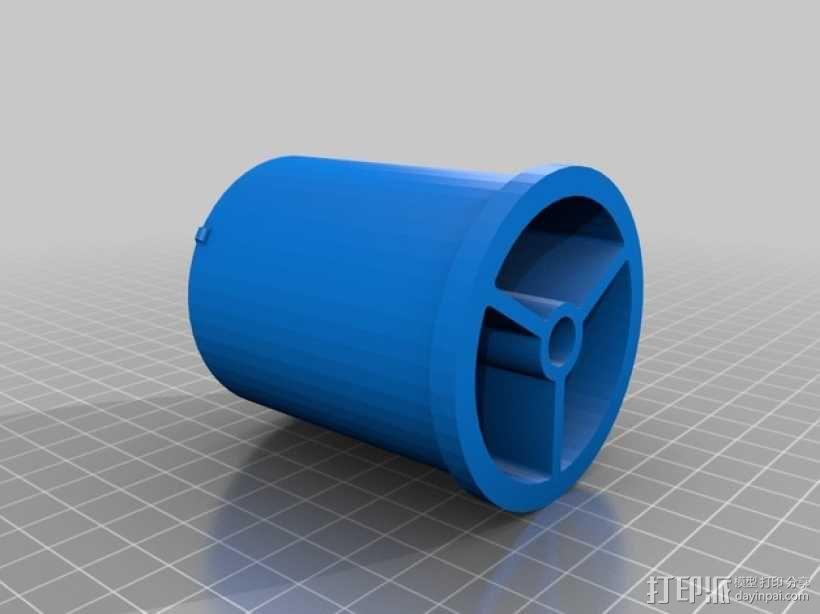 RigidBot打印机 卷线轴 3D模型  图1