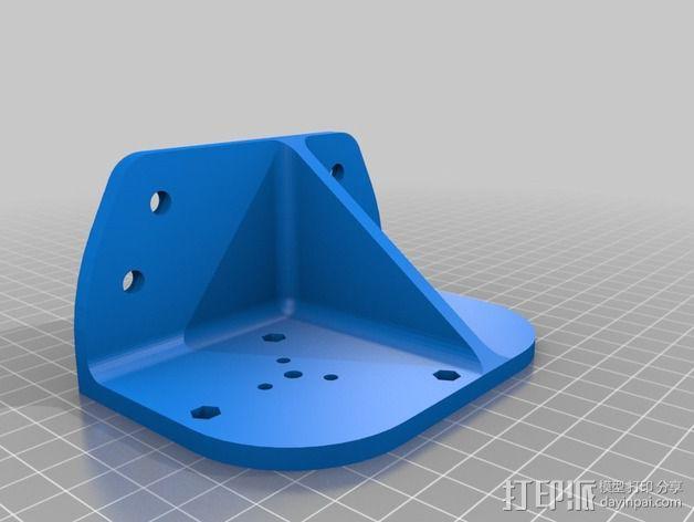 Bowden 鲍登挤出机 3D模型  图3