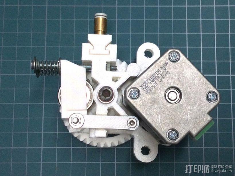 打印机卸料器 3D模型  图2