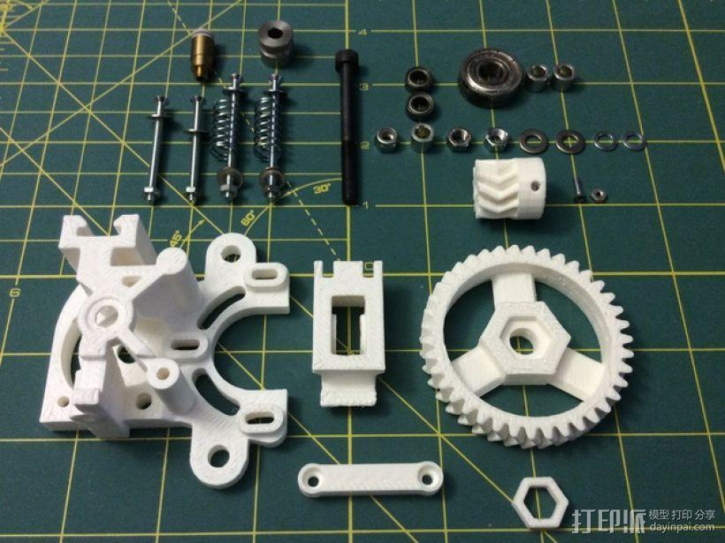 打印机卸料器 3D模型  图5