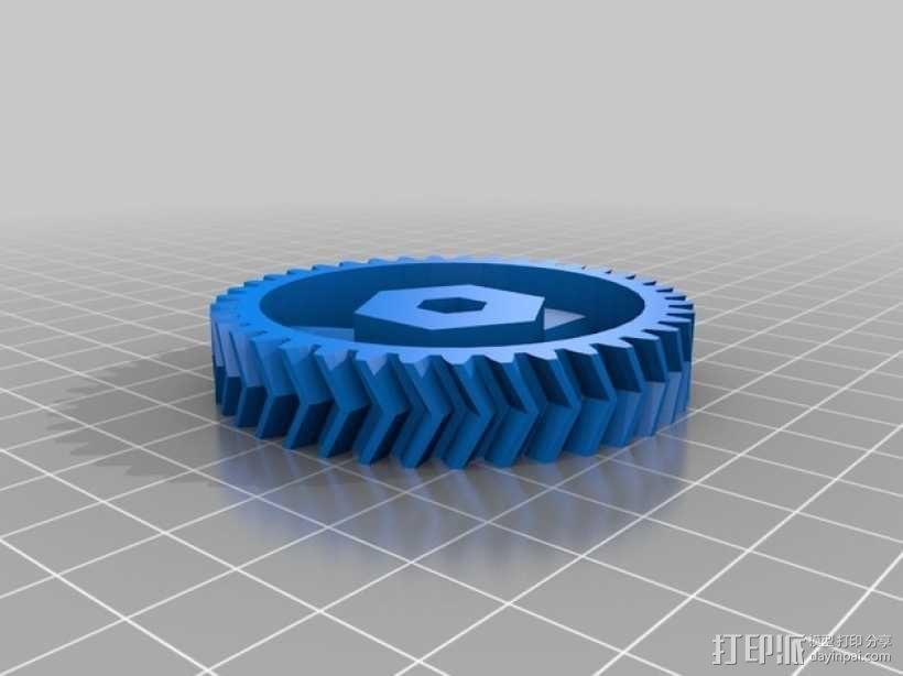 打印机卸料器 3D模型  图6