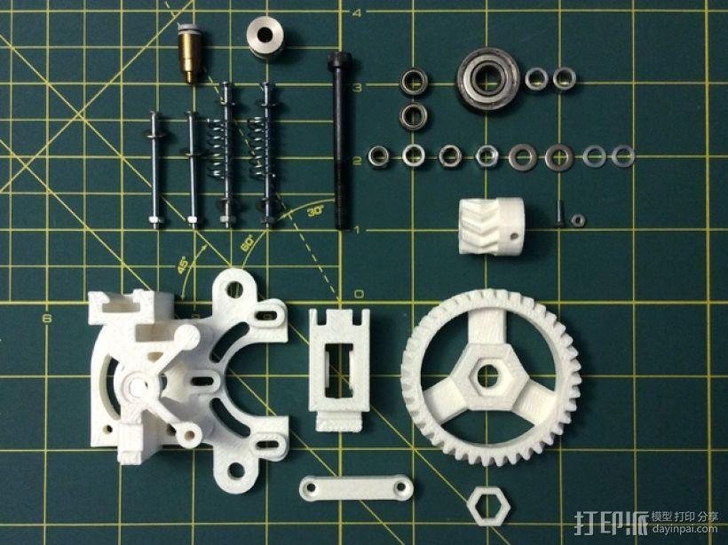 打印机卸料器 3D模型  图4