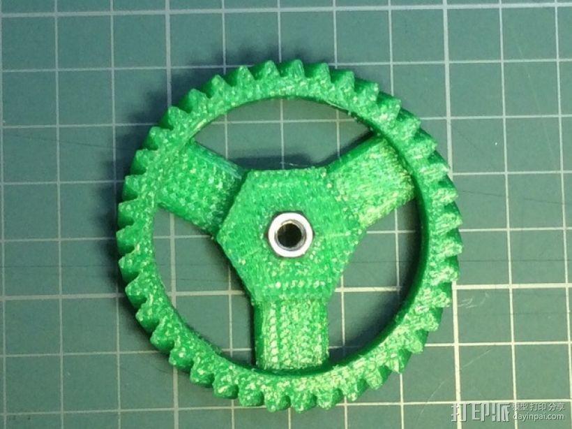 打印机卸料器 3D模型  图7