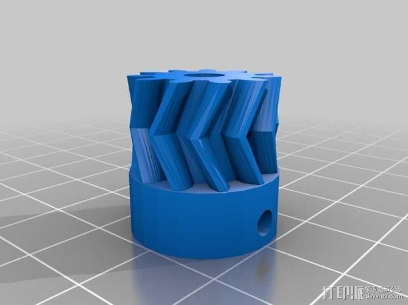 打印机卸料器 3D模型  图10