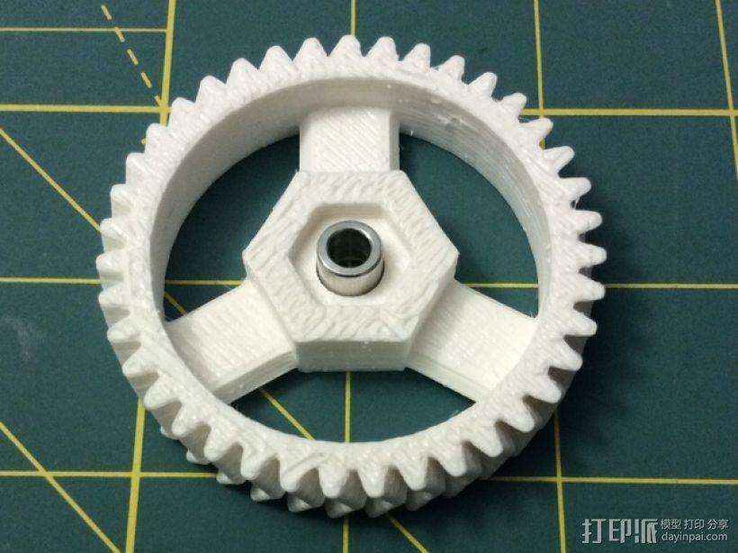 打印机卸料器 3D模型  图20