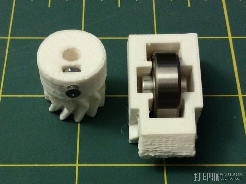 打印机卸料器 3D模型  图17