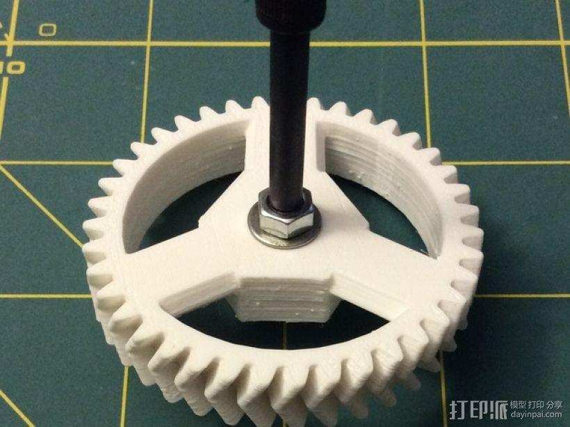 打印机卸料器 3D模型  图22