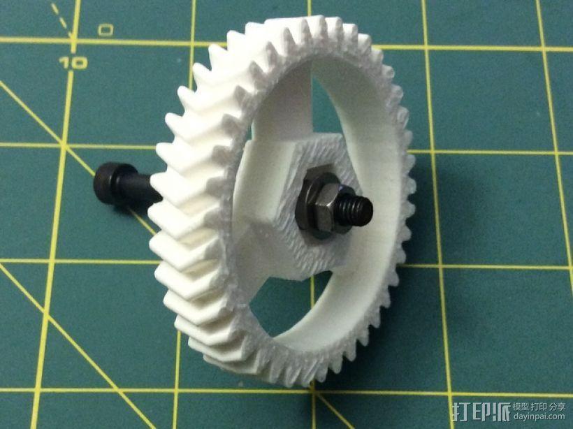 打印机卸料器 3D模型  图21