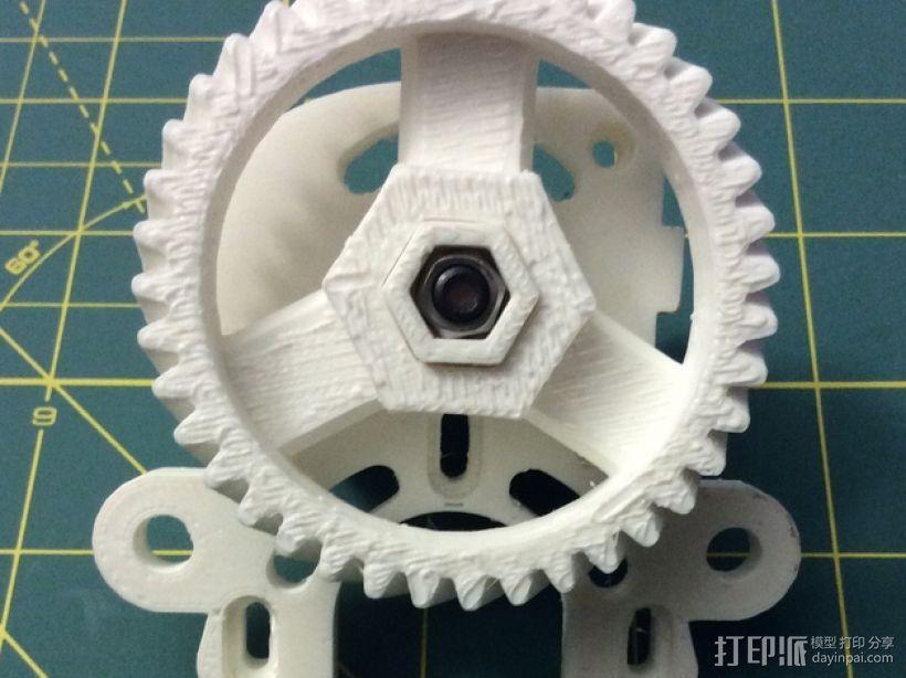 打印机卸料器 3D模型  图29