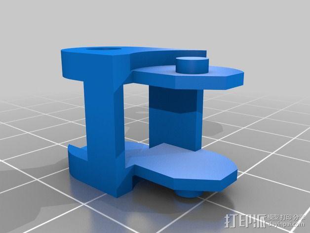 牵引链 制动链 3D模型  图2