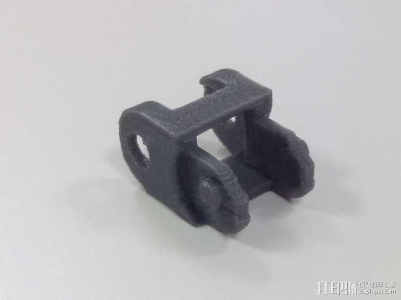 牵引链 制动链 3D模型  图1