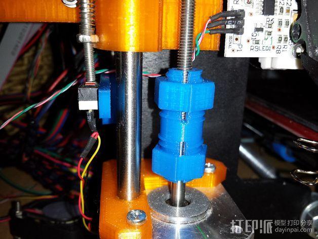 Z轴联轴器 3D模型  图3