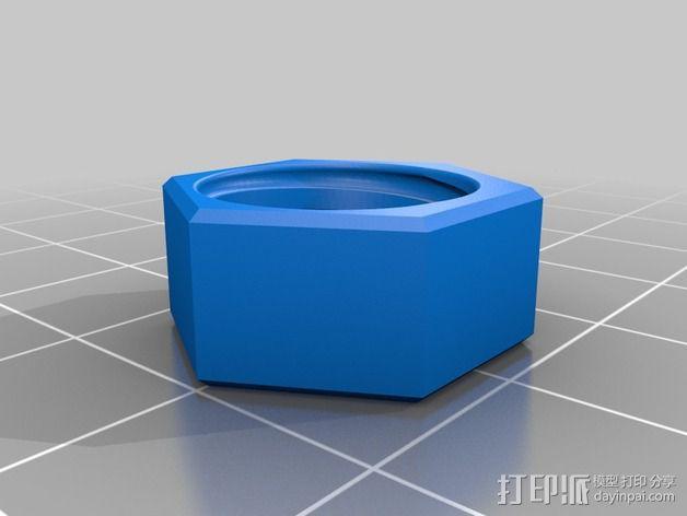 Z轴联轴器 3D模型  图5