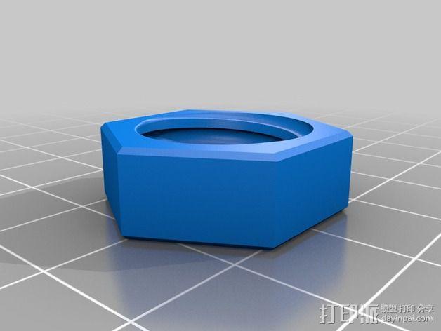 Z轴联轴器 3D模型  图4