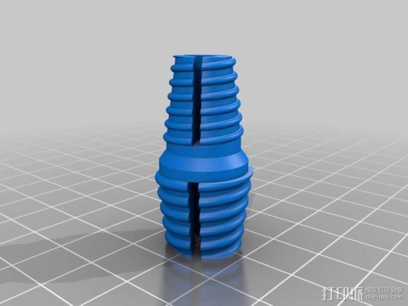 Z轴联轴器 3D模型  图8
