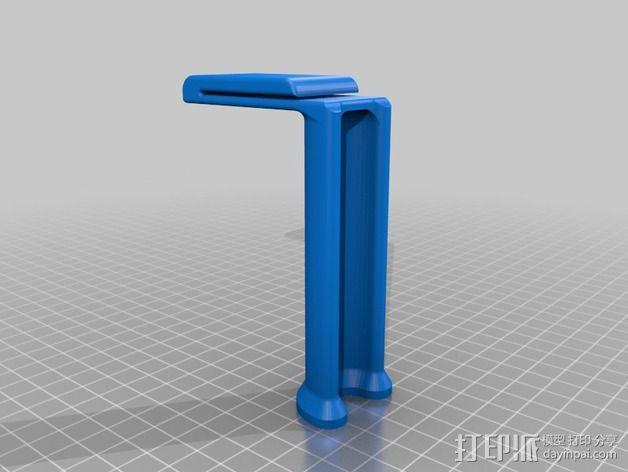 Replicator打印机线轴架 3D模型  图2