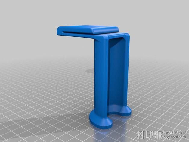 Replicator打印机线轴架 3D模型  图3