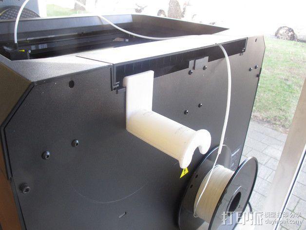 Replicator打印机线轴架 3D模型  图4