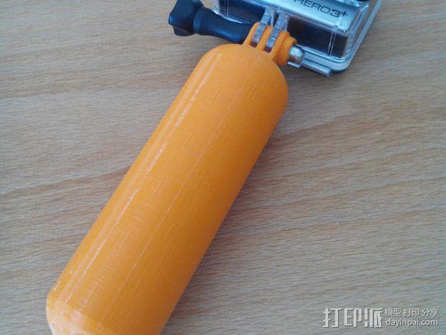 Gopro相机手柄 3D模型  图1