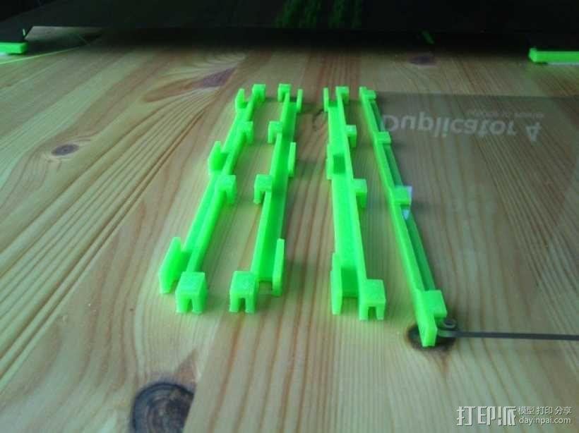 打印机玻璃框 3D模型  图1