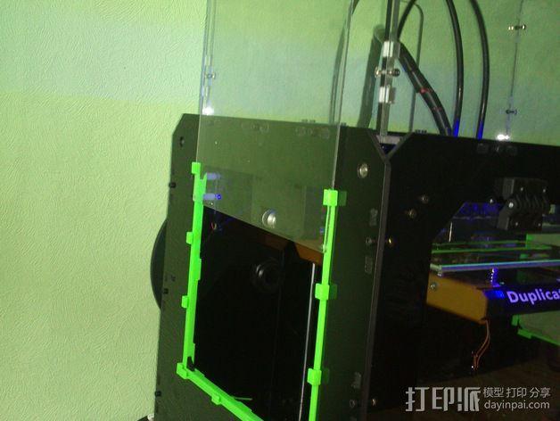 打印机玻璃框 3D模型  图6