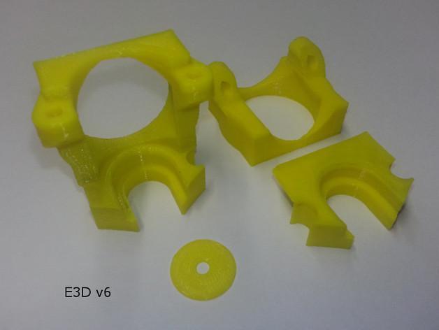 K8200打印机座架 3D模型  图2
