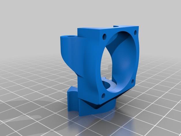 K8200打印机座架 3D模型  图3